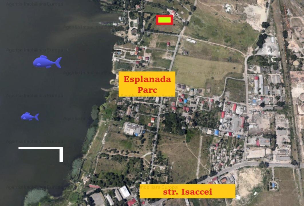 Teren langa lac Casla cu proiect casa P+1, PUZ si Autorizatii
