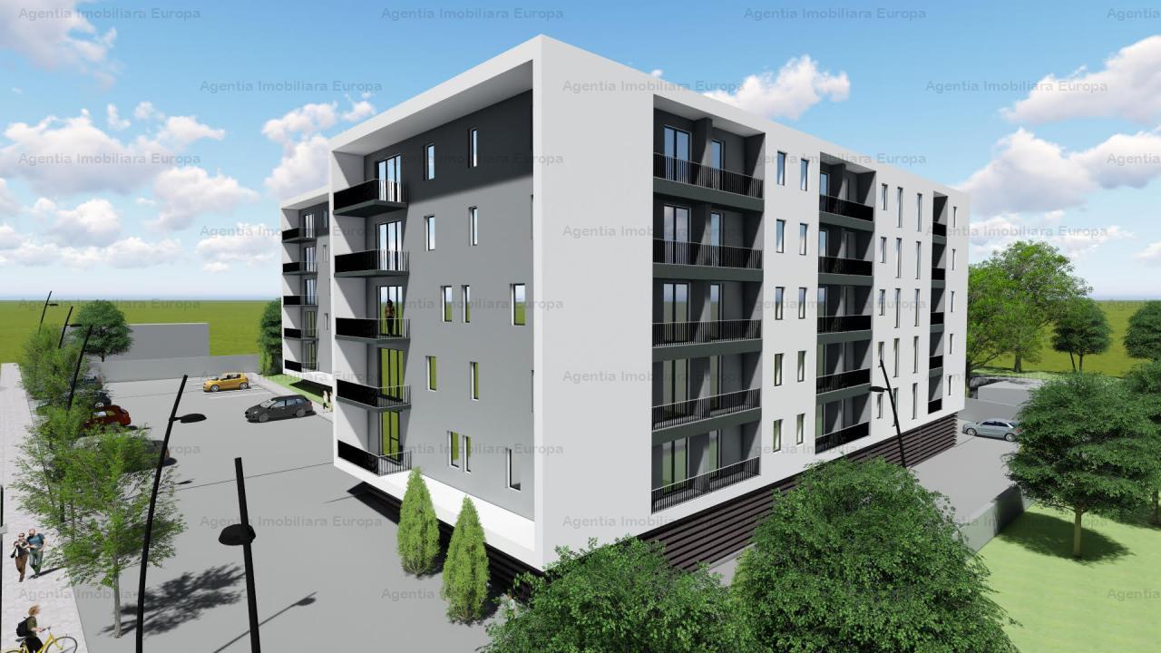 Teren cu proiect si autorizatie de construire bloc 70 apartamente