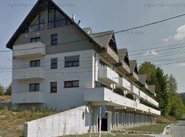 Apartament in Predeal bloc nou cu vedere la partie