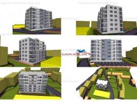 Vanzare teren constructii 1100mp, Central, Tulcea