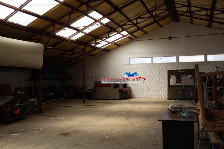Vanzare spatiu industrial, E3, Tulcea