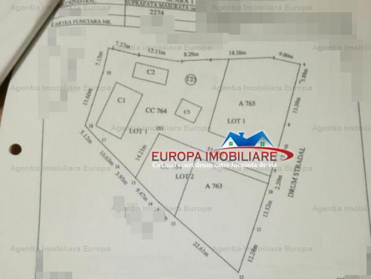 Vanzare teren constructii 2274mp, Mineri, Mineri