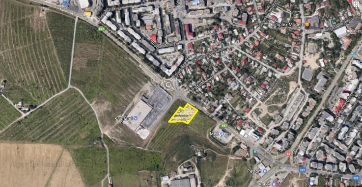 Vanzare teren constructii 3697mp, E3, Tulcea