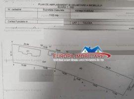 Vanzare teren constructii 1122mp, Central, Tulcea