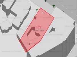 Vanzare teren constructii 635mp, Piata Romana, Bucuresti