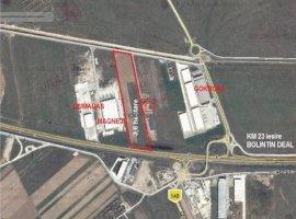 Vanzare teren constructii 36000mp, Bolintin-Deal, Bolintin-Deal