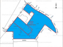 Vanzare teren constructii 100000mp, Central, Popesti-Leordeni