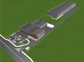 Vanzare teren constructii 23600 mp, Domnesti, Domnesti