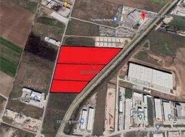 Vanzare teren constructii 78850 mp, Central, Chitila