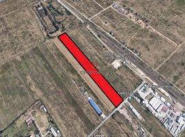 Vanzare teren constructii 29150mp, Central, Magurele