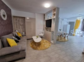 Apartament cu vedere la mare mobilat si utilat Mamaia Nord