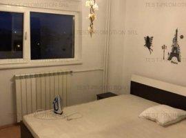Apartament cu 2 camere de inchiriat in zona Tineretului - metrou, vedere parc.