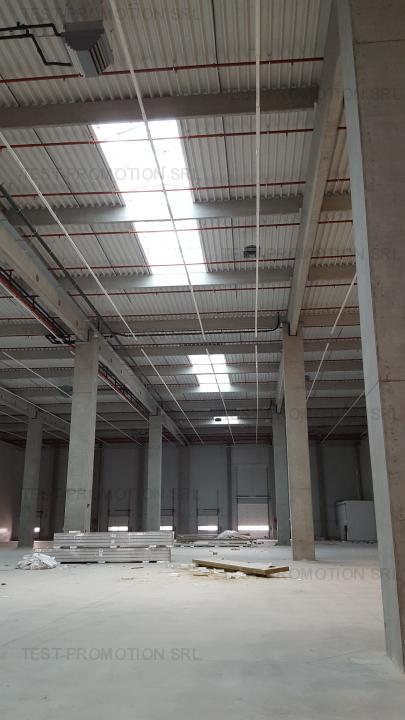 Parc logistic depozit productie depozit farmaceutic hala industriala A1