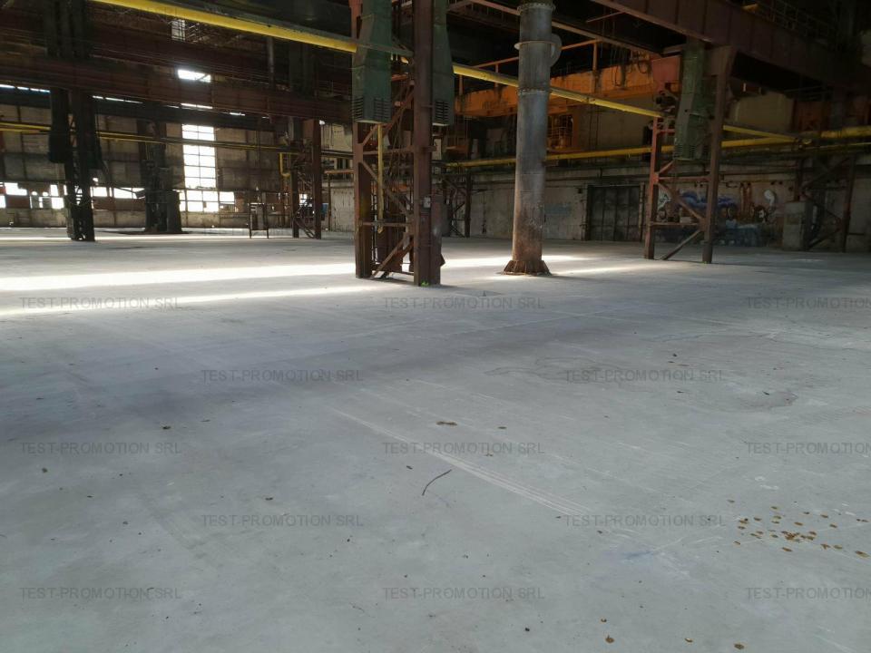 Hala depozitare productie  Faur metal prelucrari metalice acces cale ferata