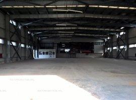 Hala industriala Depozit cu birouri si spatiu de expunere comerciala service auto Iuliu Maniu