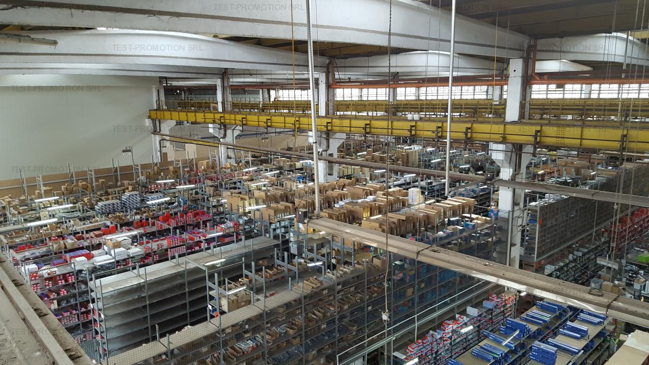 Spatiu depozitare , logistica , productie , hala industriala