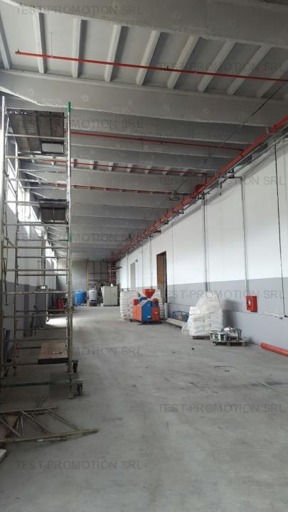 Spatiu depozitare , logistica ,productie , hala industriala Sud Popesti