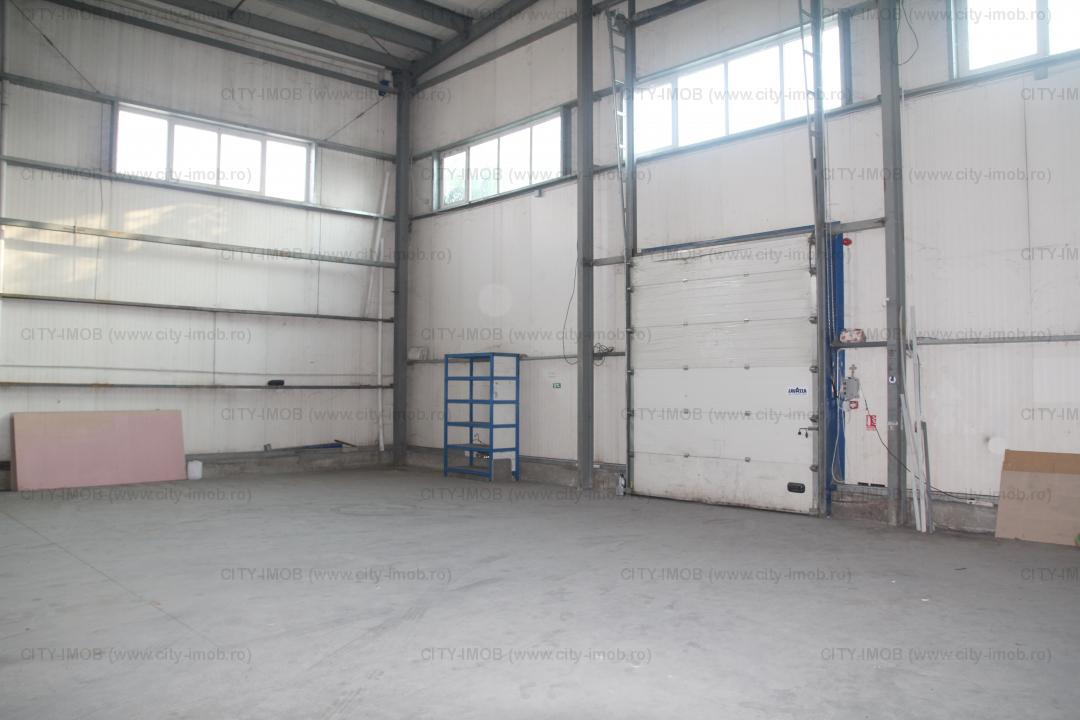 Depozit, Birouri Administrative, Hala productie  Warehouse, Administrative Offices, Production Hall