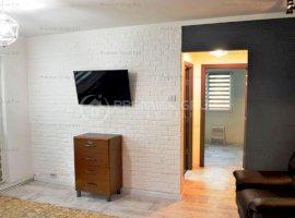 Apartament 2 camere, Podu Ros, 52mp, CT, et 1, mobilat+utilat, FARA RS