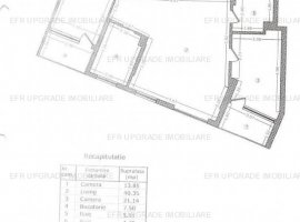 EFR UPGRADE IMOBILIARE - Apartament cu 3 camere de vânzare, Stefan cel Mare -