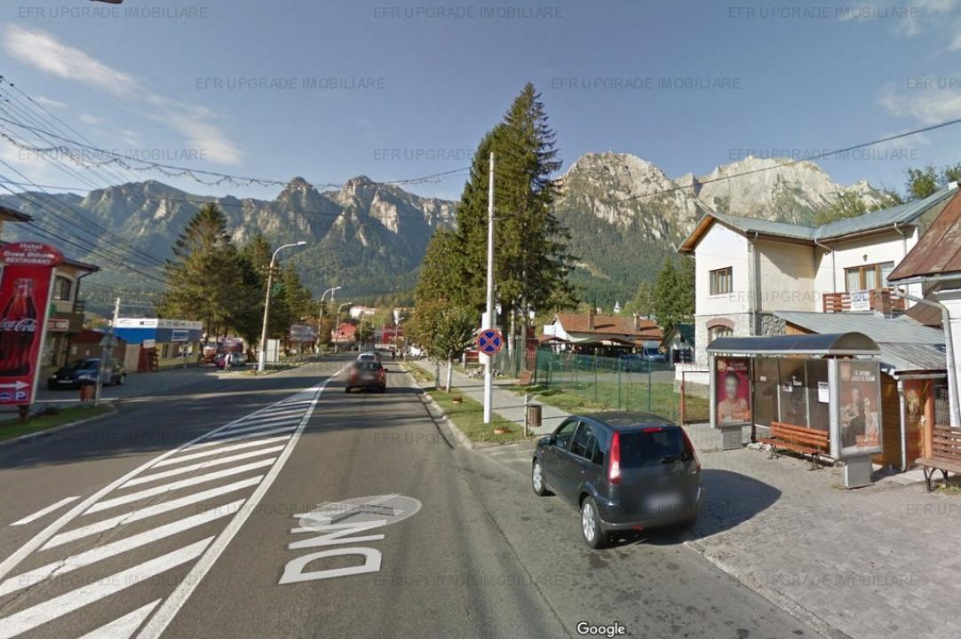 EFR Upgrade Imobiliare - Teren si vila de vanzare in centrul orasului Busteni
