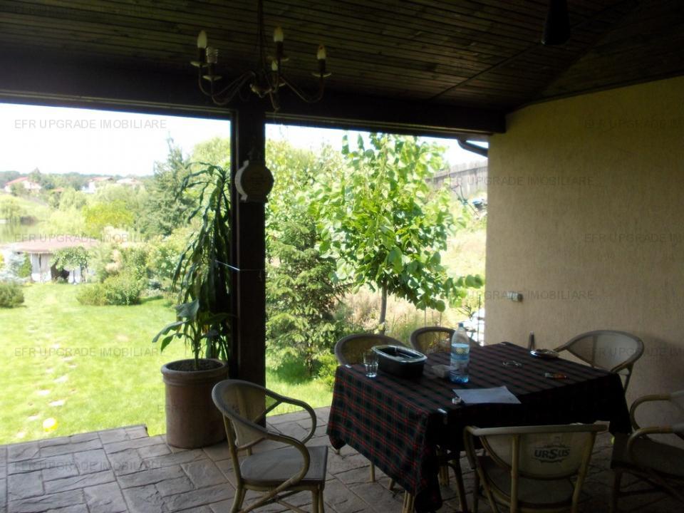 EFR UPGRADE - Vila exclusivista 5 camere cu ponton la lac zona Balotesti