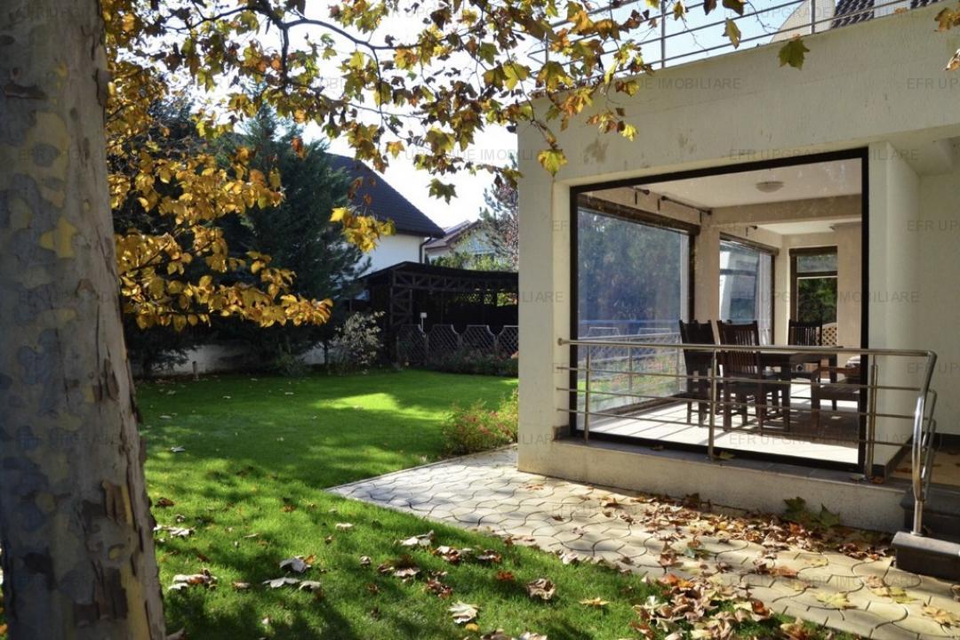 EFR UPGRADE  - Vila exclusivista 7 camere de vânzare Pipera Iancu Nicolae