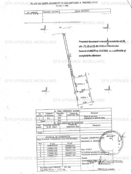 Teren constructii zona Drumul Taberei Valea Ialomitei