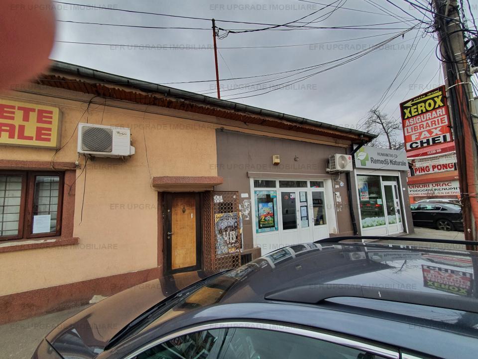 EFR UPGRADE - Casa si teren de vanzare destinatie COMERCIALA zona Bucurestii Noi