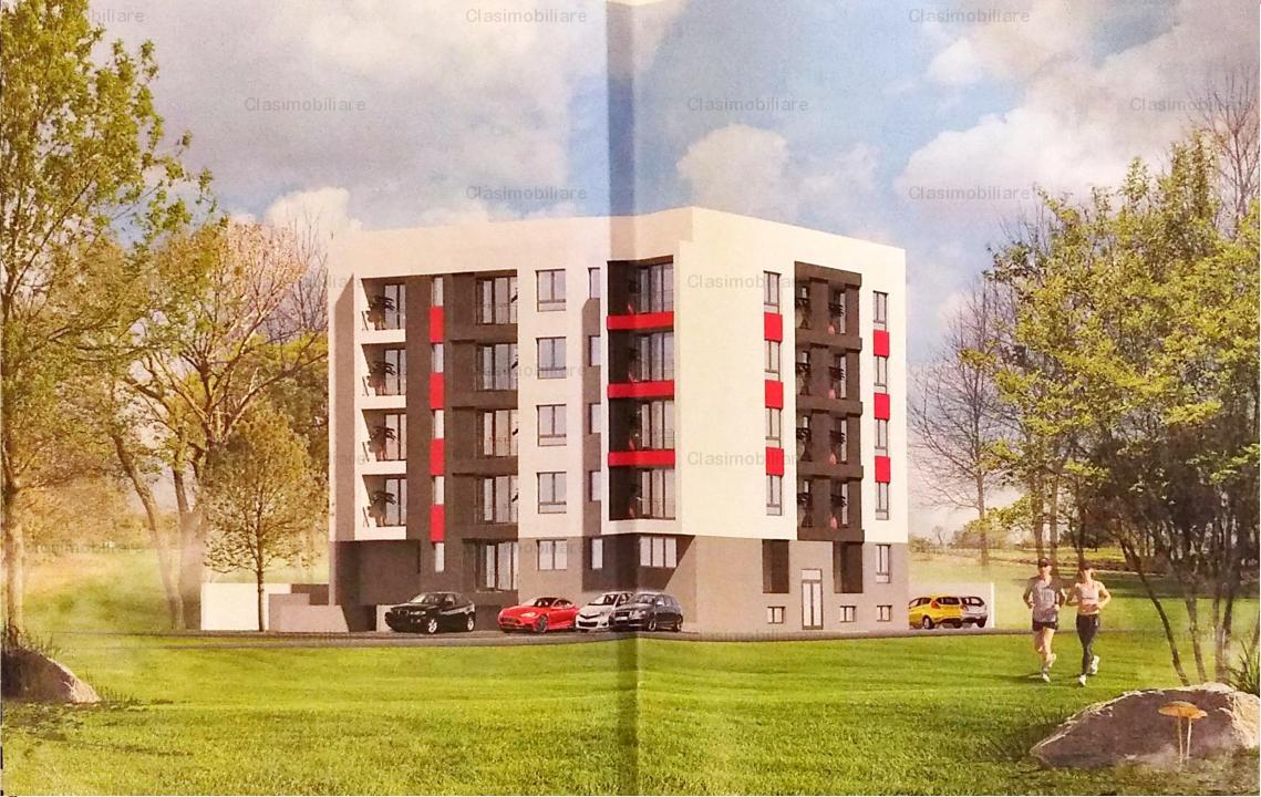 Apartament 2 camere, bloc 2018 (P+4), zona Titan langa Auchan