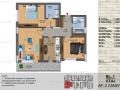 Titan, Theodor Pallady - 3 camere, bloc nou(P+3), parter, etaj 1, etaj 2