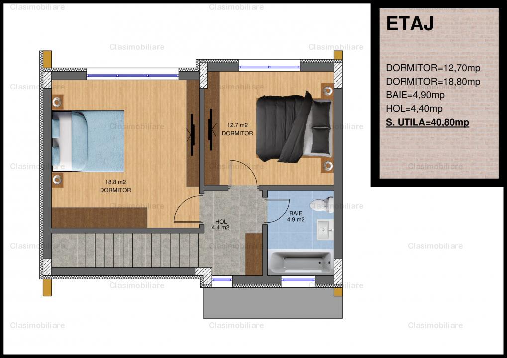 Casa P+1 zona Theodor Pallady - curte 30 mp + loc parcare