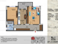 Titan, Theodor Pallady - 2 camere, bloc nou(P+3), etaj 1, etaj 2