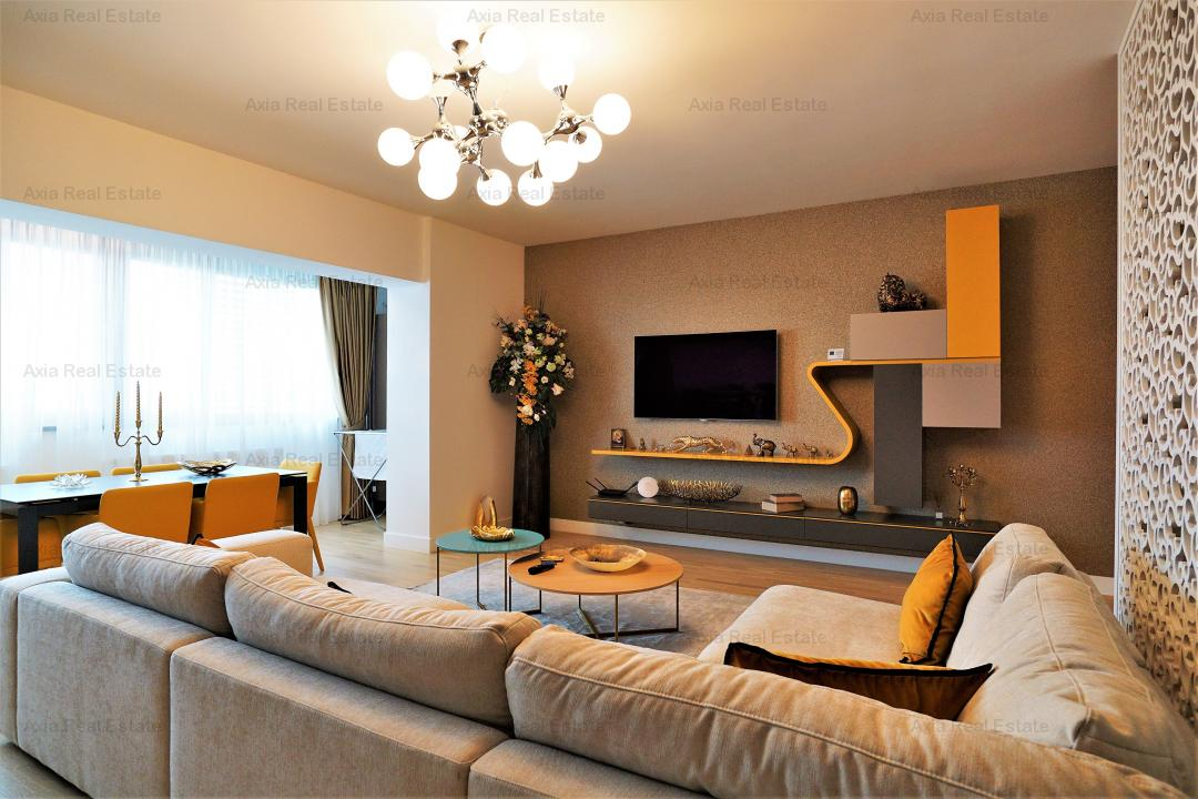 Apartament 4 camere mobilat si utilat - Zona Herastrau - Comision 0