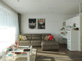 Apartament 2 camere, complet mobilat, 1 Loc parcare inclus- CORTINA RESIDENCE