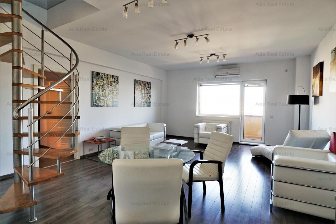 Penthouse tip duplex - Terasa impresionanta - Vedere Libera - Zona Eminescu