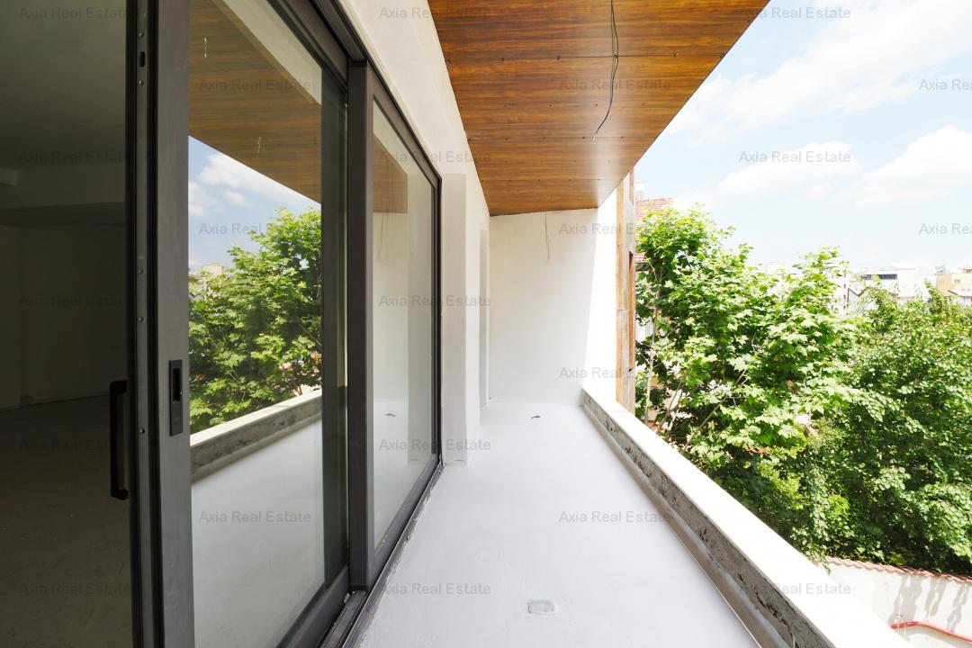 Apartament 3 camere Herastrau in BLOC NOU