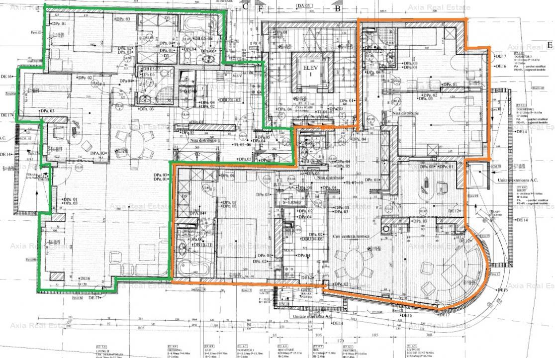 Inchiriere spatiu birou 135 mp, Romana-Victoriei - loc de parcare inclus