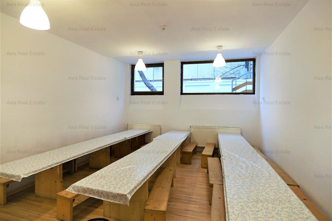 Imobil 27 camere, curte libera 800 mp - pretabil scoala, clinica, birouri