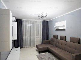 Vanzare apartament 2 camere, mobilat/utilat modern - bloc Perla