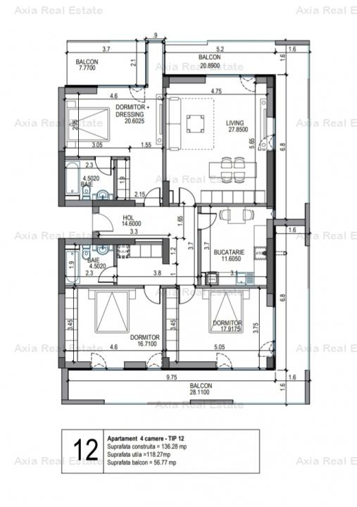 4camere - Pipera Rezidential | New - COMISION 0%