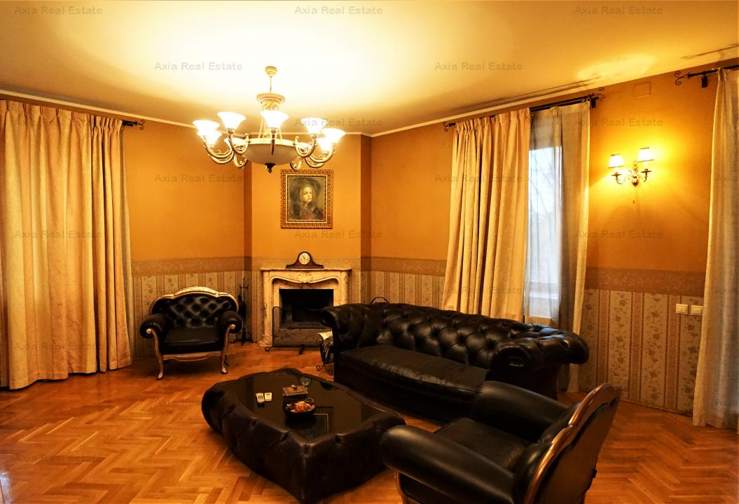 Rezidenta de lux - 8 camere | Pipera | 1250mp teren | Supraveghere Video + Parcare
