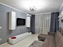 Vanzare apartament 2 camere- mobilat - bloc Perla