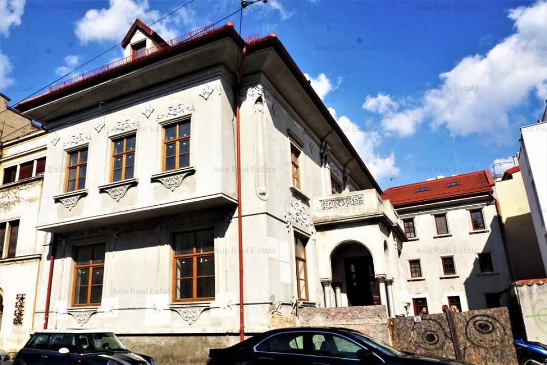 Vila – sediu companie, clinica, ambasada – Piata Romana – Piata Victoriei