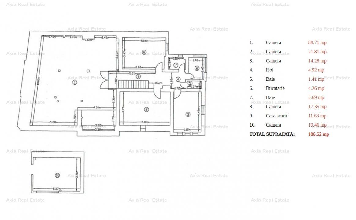 Vila consolidata, elemente neoclasice - Piata Romana