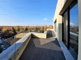 Penthouse tip duplex - vedere Parcul Herastrau - 4 camere