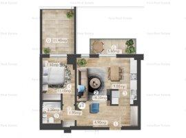 Apartament 2 camere Belvedere - 2 terase - incalzire pardoseala