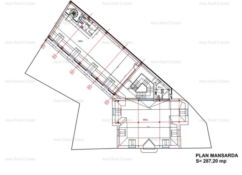 Inchiriere vila renovata, cu 6 locuri parcare - Piata Romana