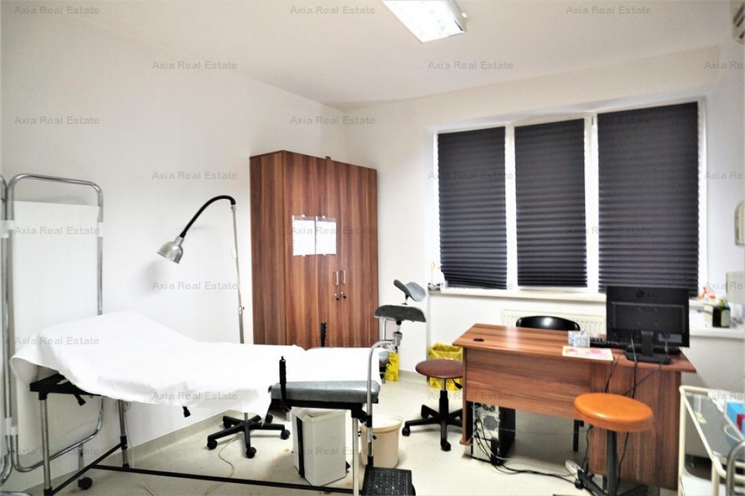 Imobil amenjat pentru clinica - 30 cabinete - Universitate