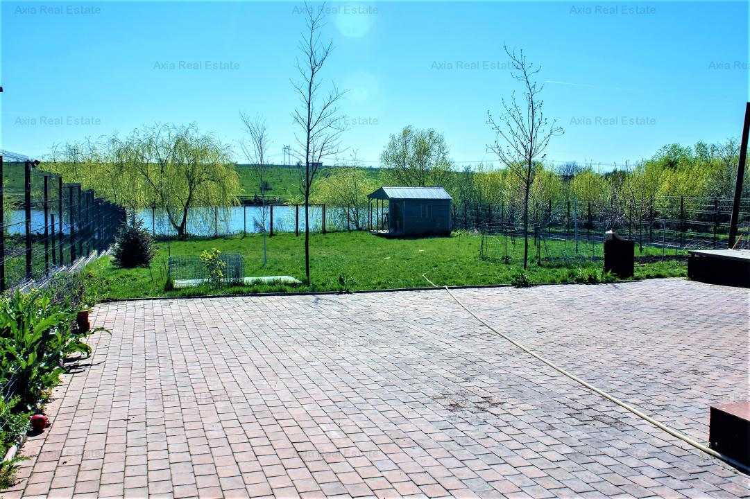 Casa cu deschidere la lac  - Frumusani